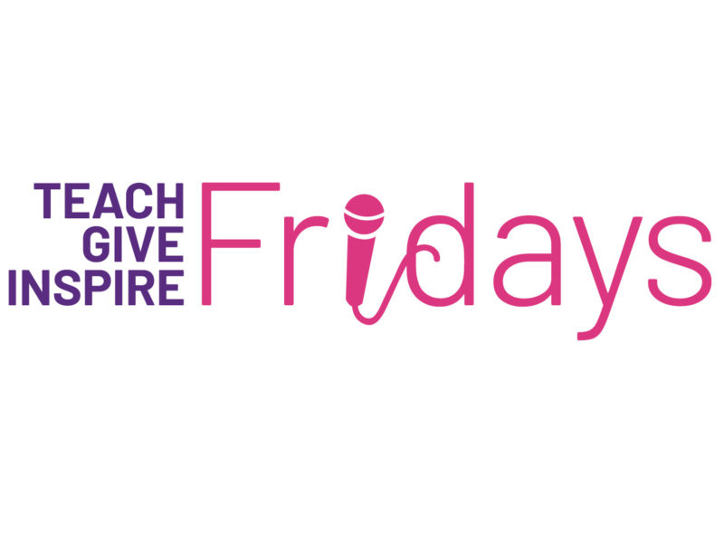 Teach Give Inspire Fridays Logo